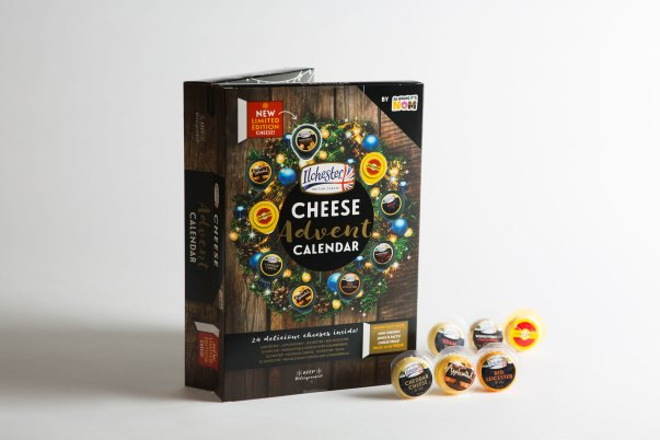 2018 cheese advent calendar