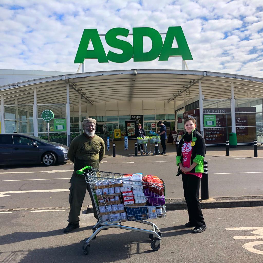 Frank Charles donation | Asda Leyton Mills