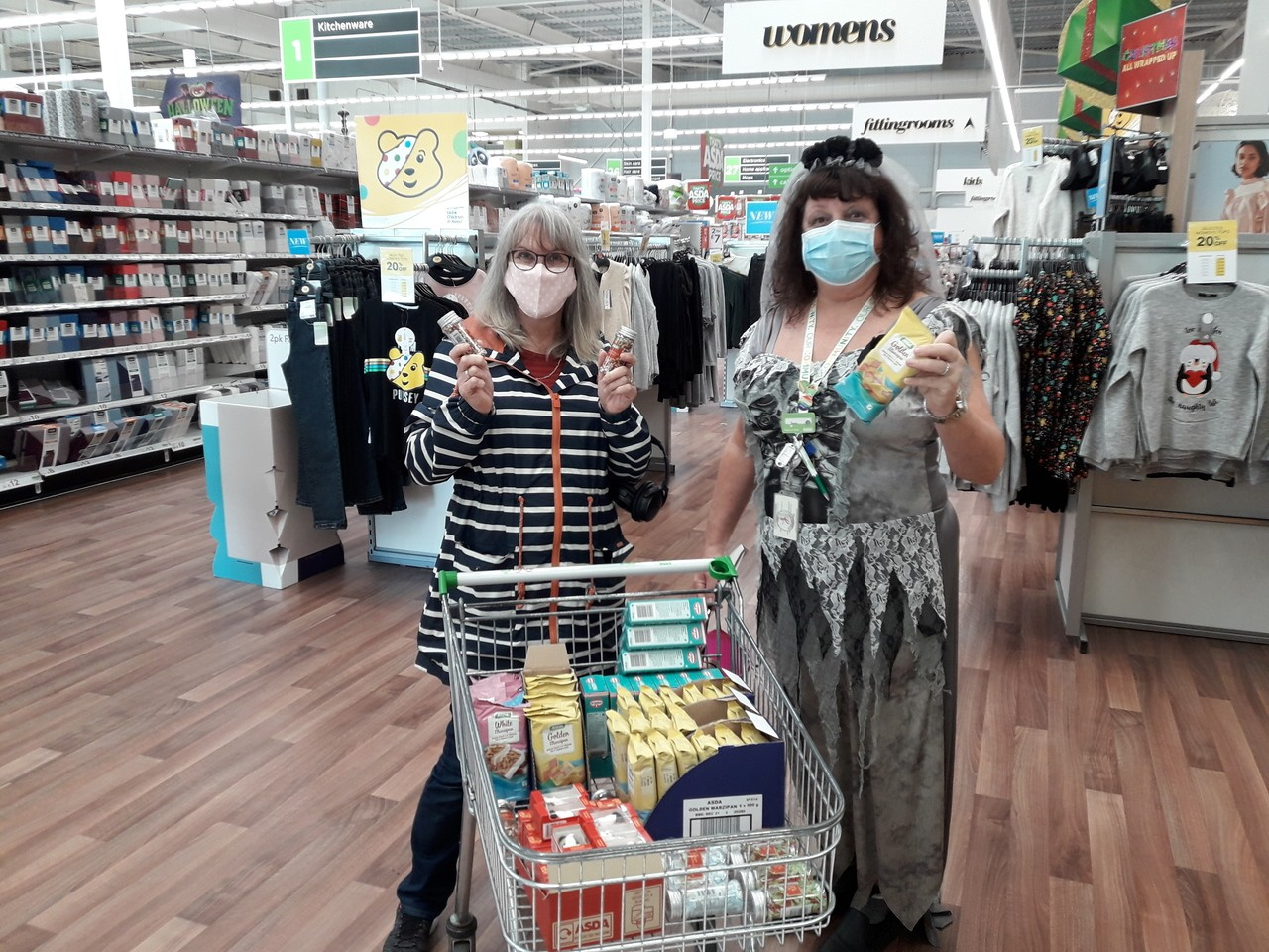 Decorations for community event  | Asda Dundee West