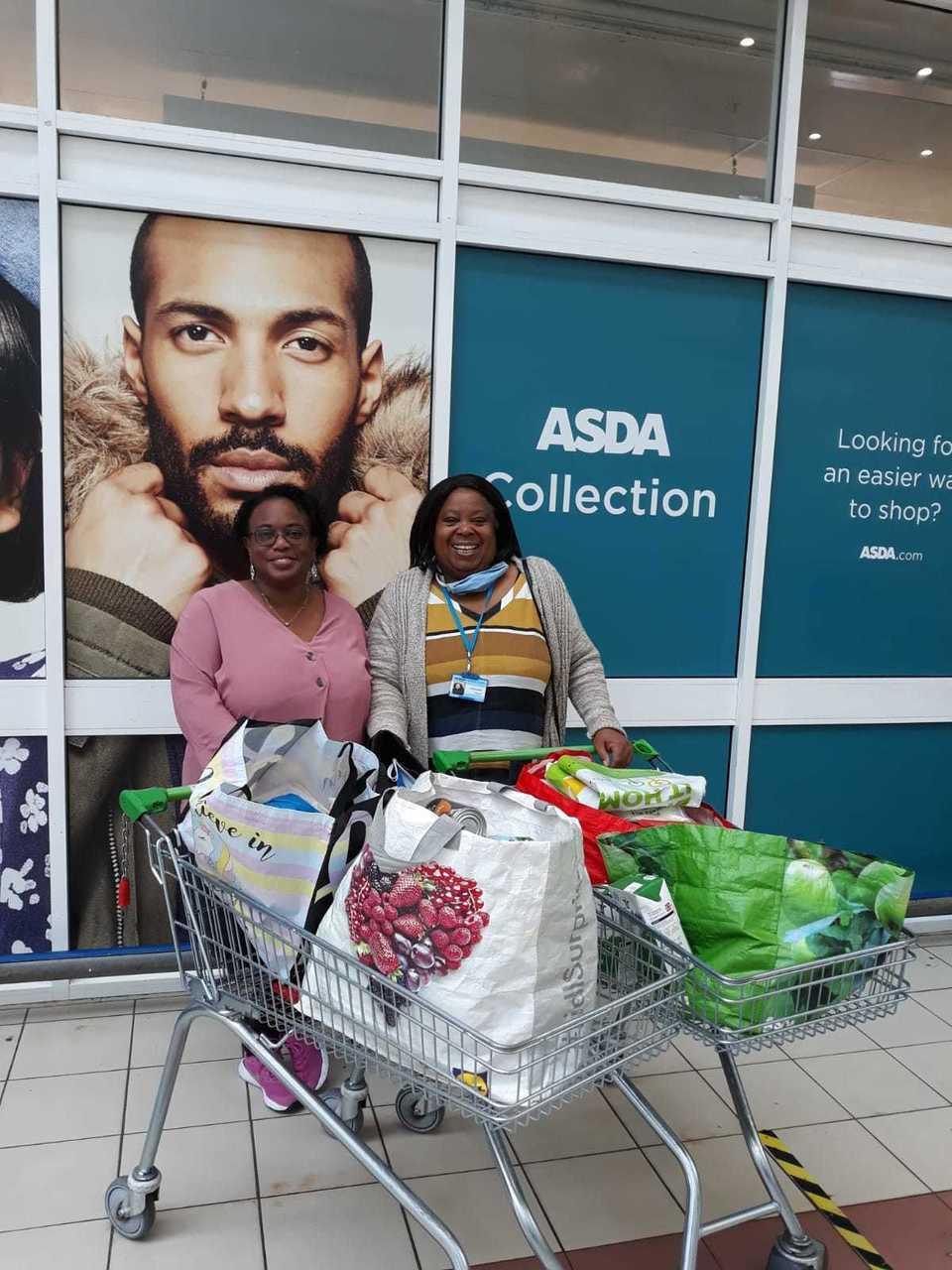 Handsworth Foodbank collection   Asda Perry Barr
