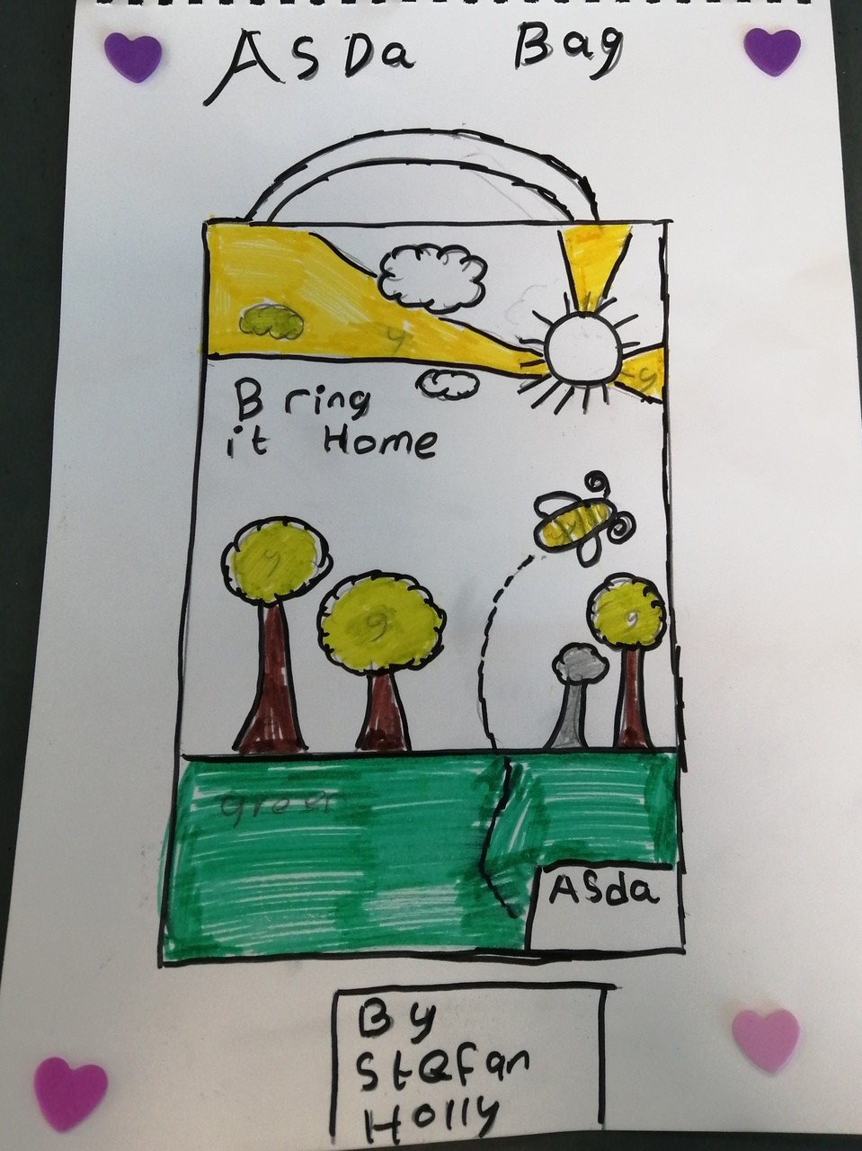 Amazing picture from little Stefan | Asda Clayton Green