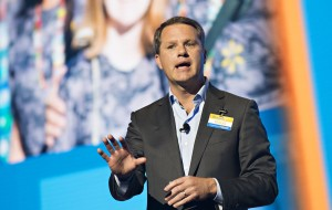 Doug McMillon speaking at the Walmart Shareholders 2017 Meeting
