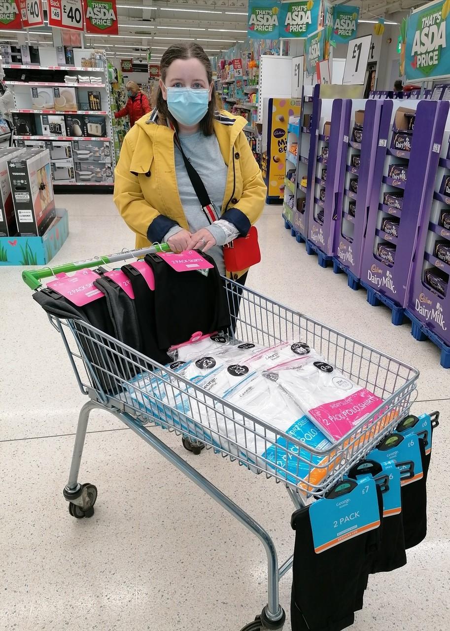 Uniform Donations | Asda Motherwell