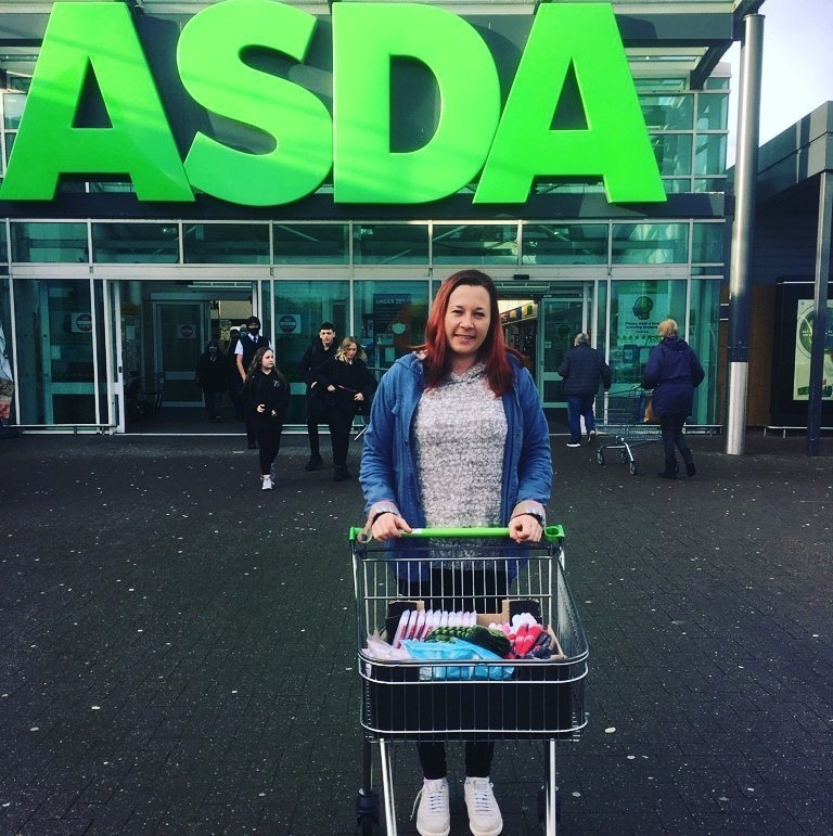 Donation to Families Outside | Asda Dyce