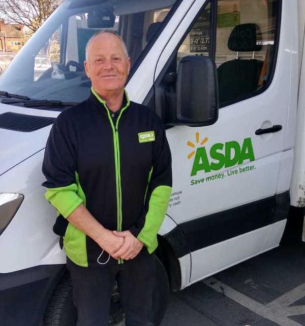 Tony Hadley from Asda Chapeltown