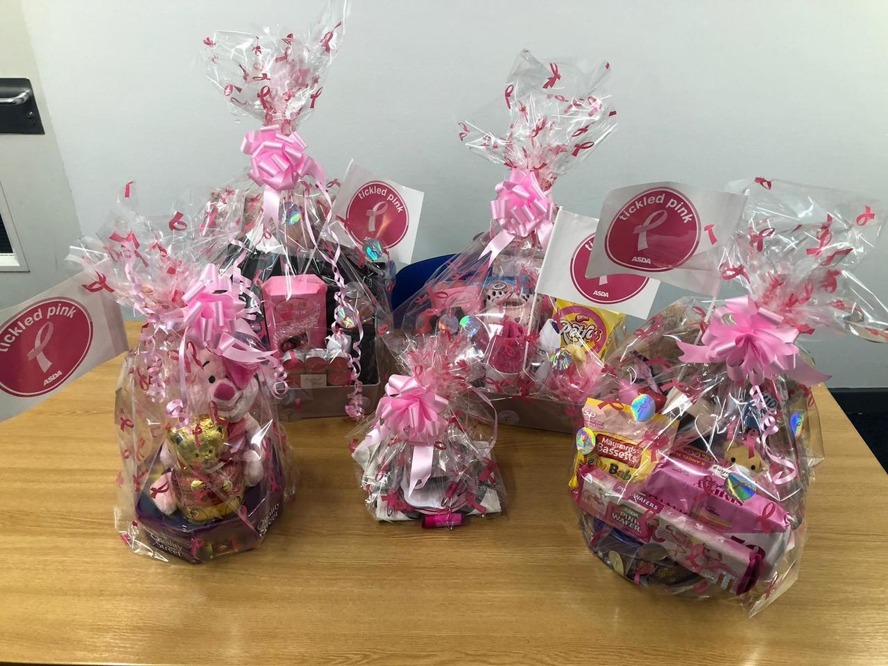 Tickled Pink raffle for colleagues  | Asda Great Bridge