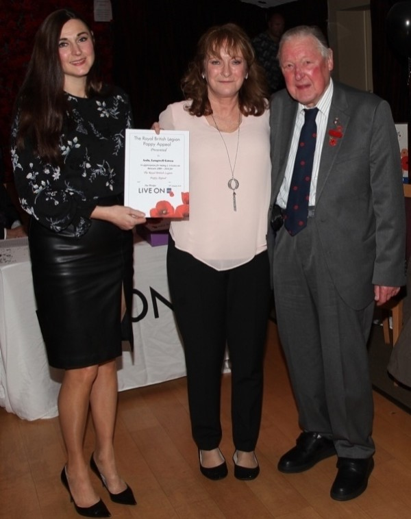 Asda Longwell Green's Poppy Appeal fundraising recognised