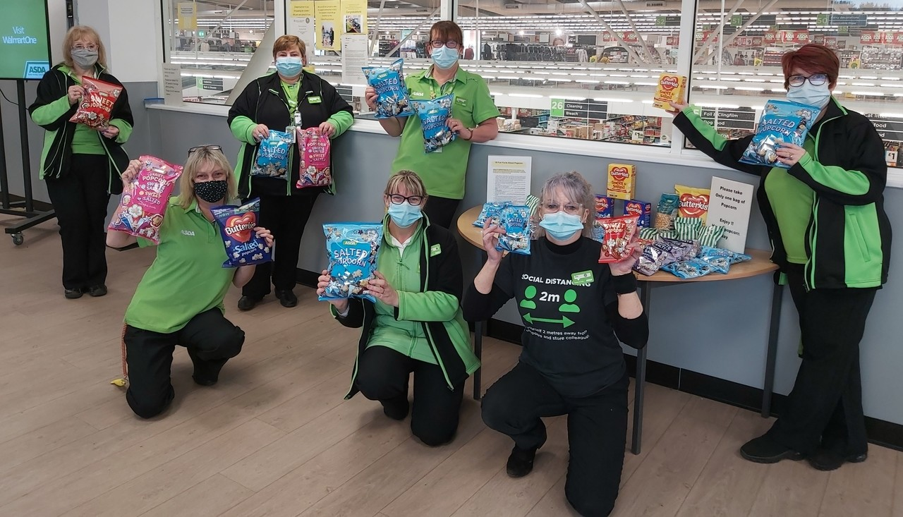 Popcorn Day for colleagues | Asda Donnington Wood