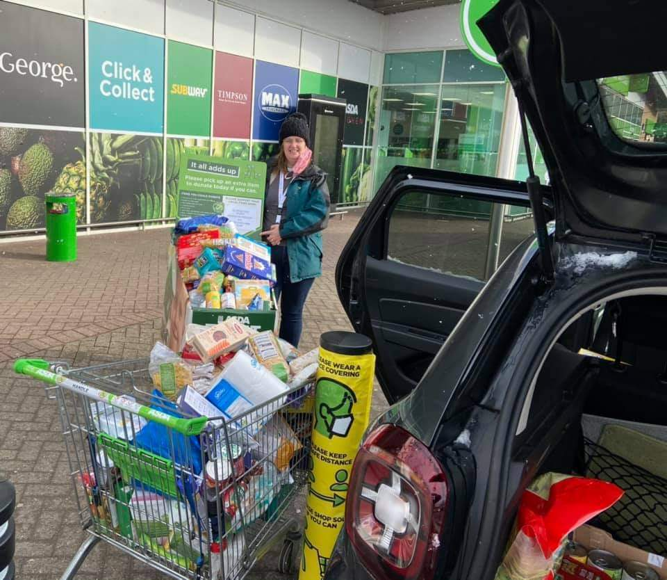 Mary's Child donation | Asda Greenhithe