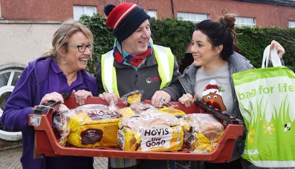 Asda Belfast Westwood community champion Noeleen with community centre volunteers