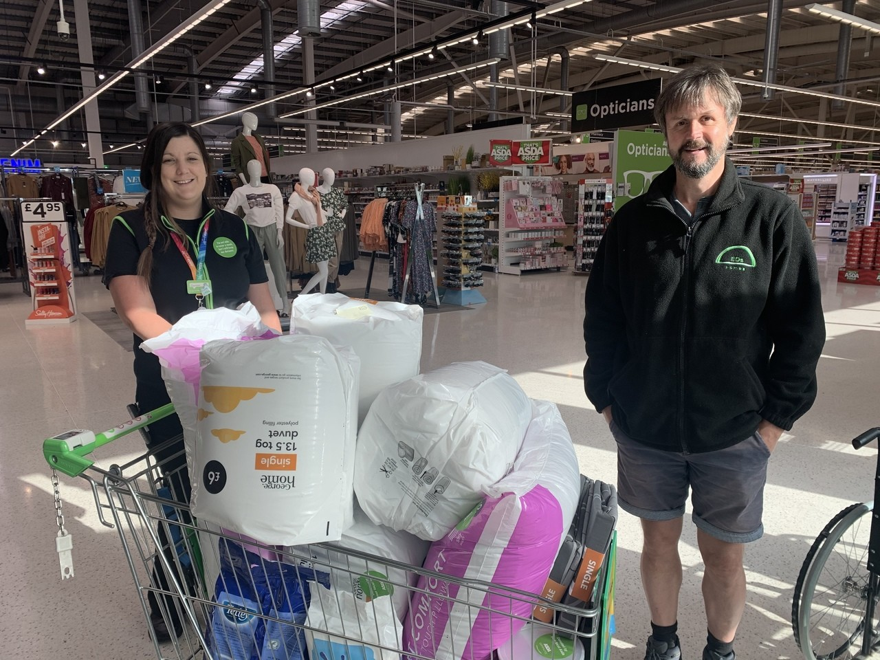 Donation to EDS Homes | Asda Wigan