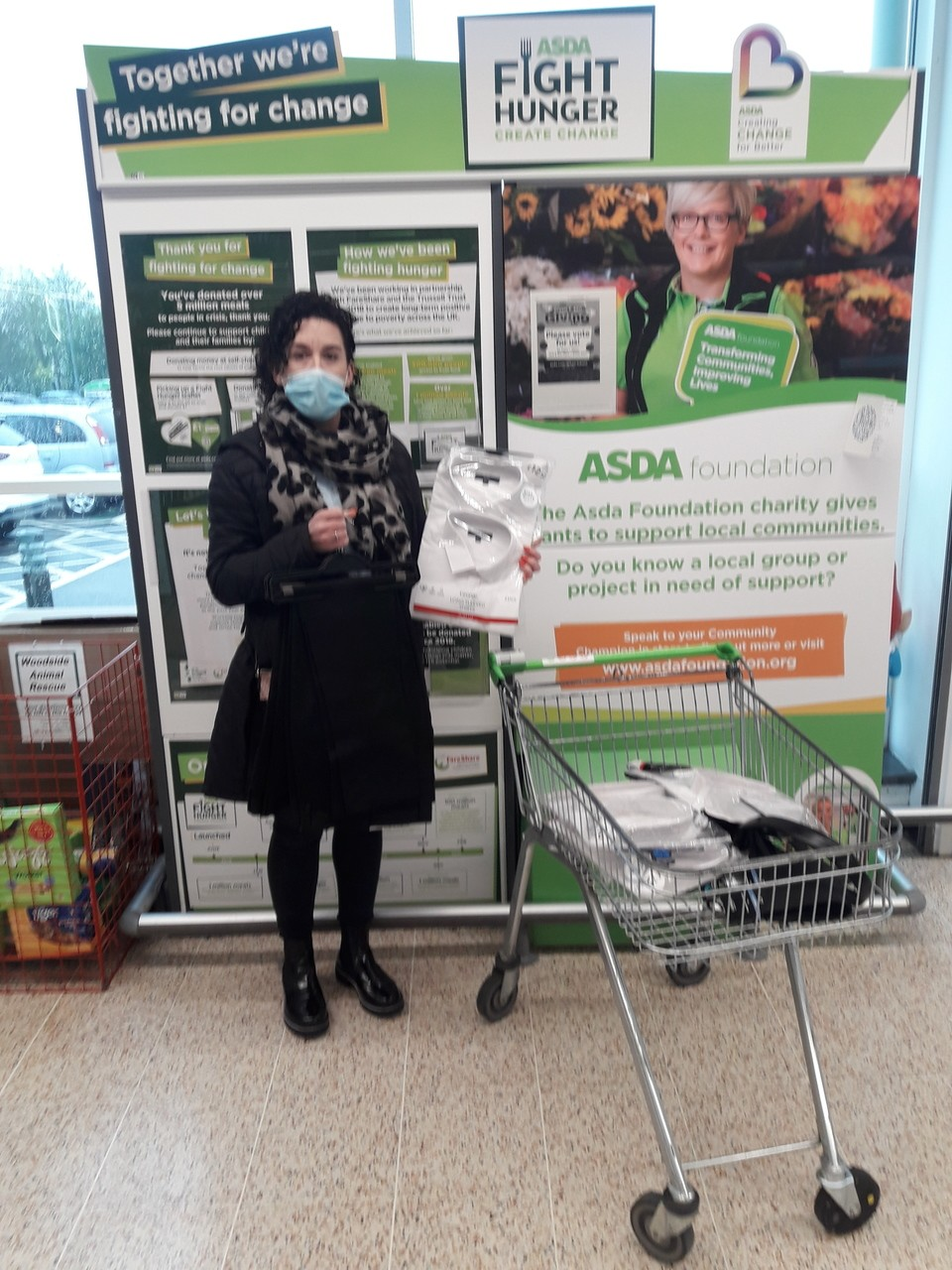 Suited to Help | Asda Plymouth