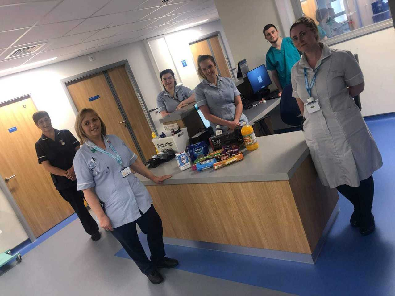 Thank you package to Northumbria Specialist Emergency Care Hospital | Asda Cramlington