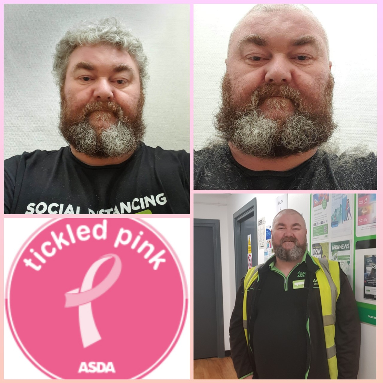 Ceri's head shave for Tickled Pink | Asda Tonypandy