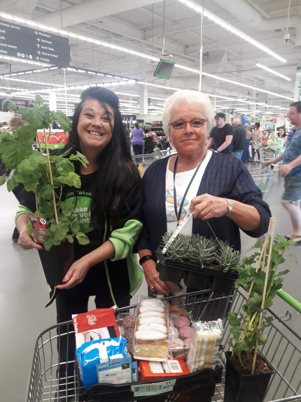 Care home donation | Asda Patchway
