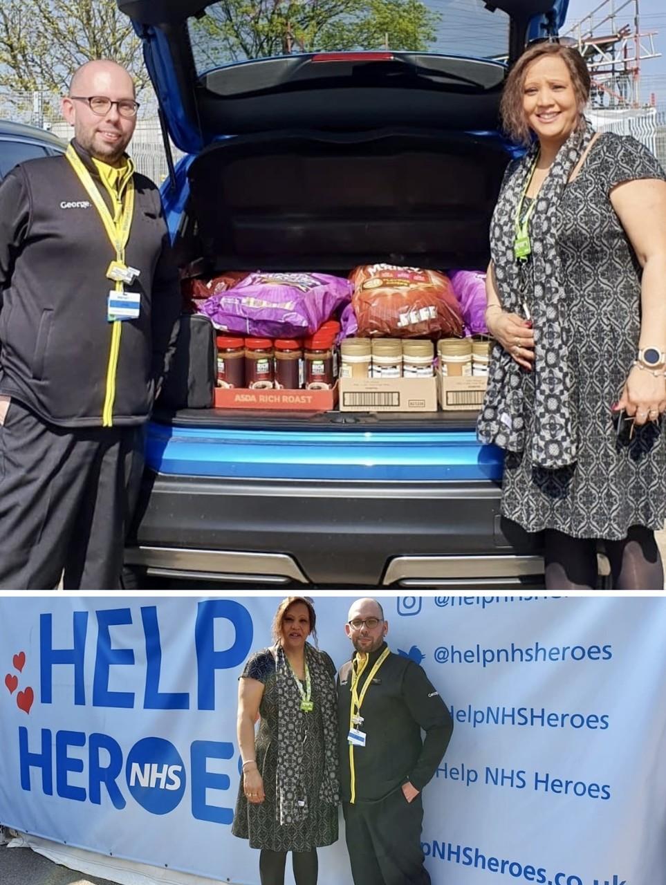 Asda Stevenage proud to support Help NHS Heroes | Asda Stevenage