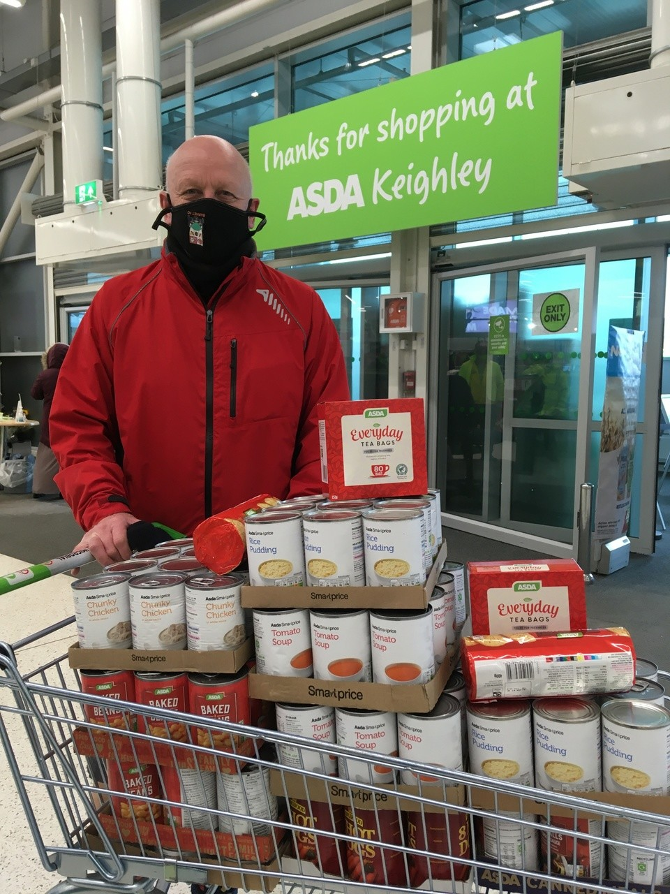 Food donation | Asda Keighley