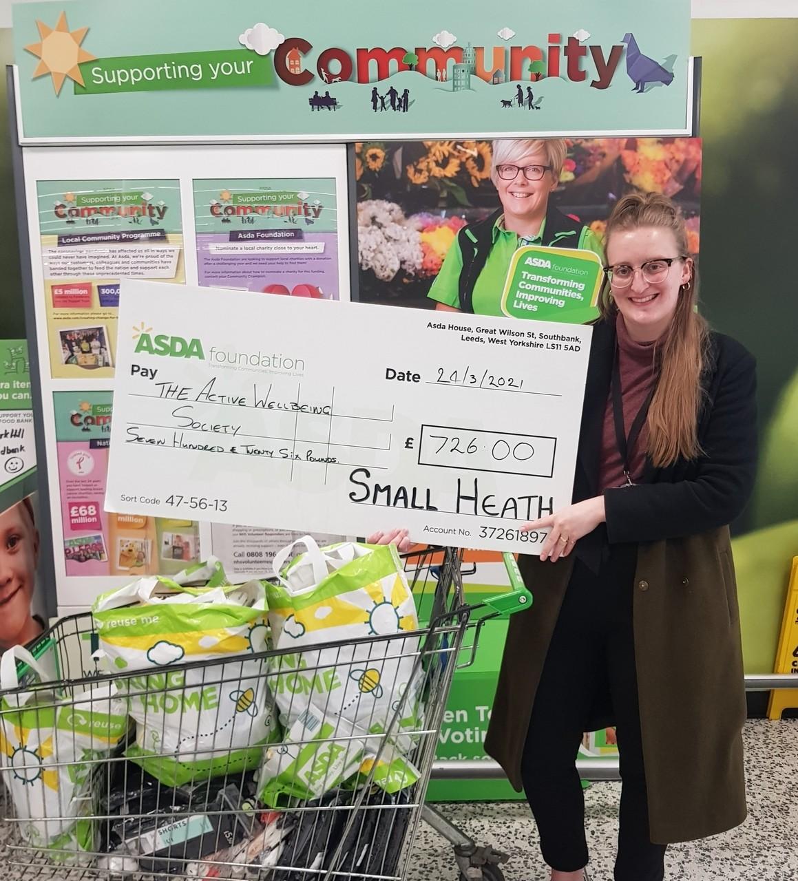 Foundation grant | Asda Small Heath