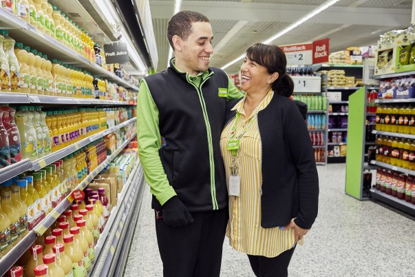 Max Ferreira and Jenny Galatis from Asda Southgate Circus