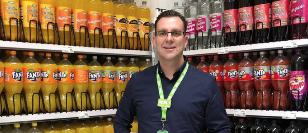Asda South Ruislip general store manager Lee Randall
