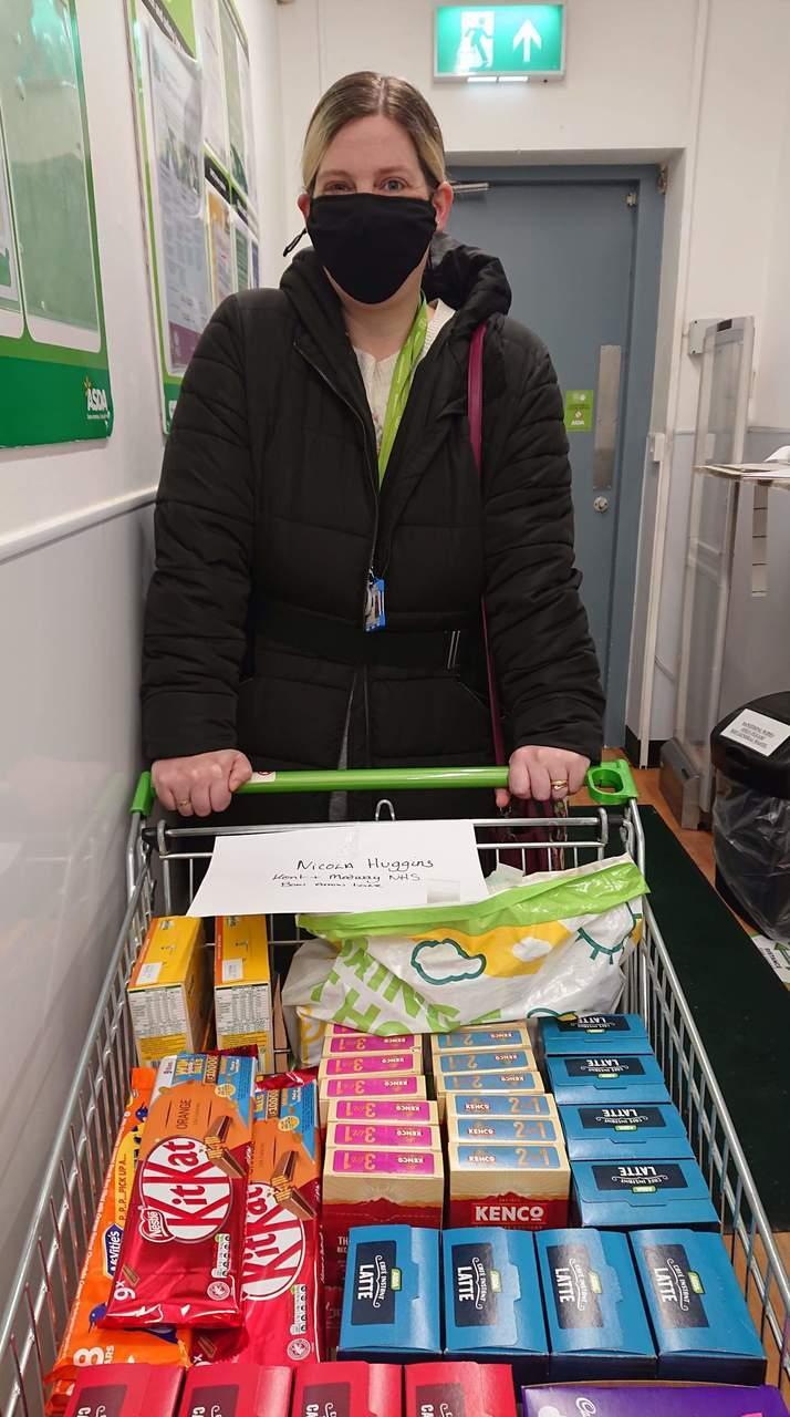 NHS donation | Asda Greenhithe