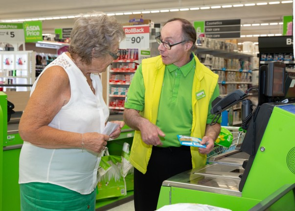 Paul Humphreys from Asda Abbey Park is getting great feedback on Facebook