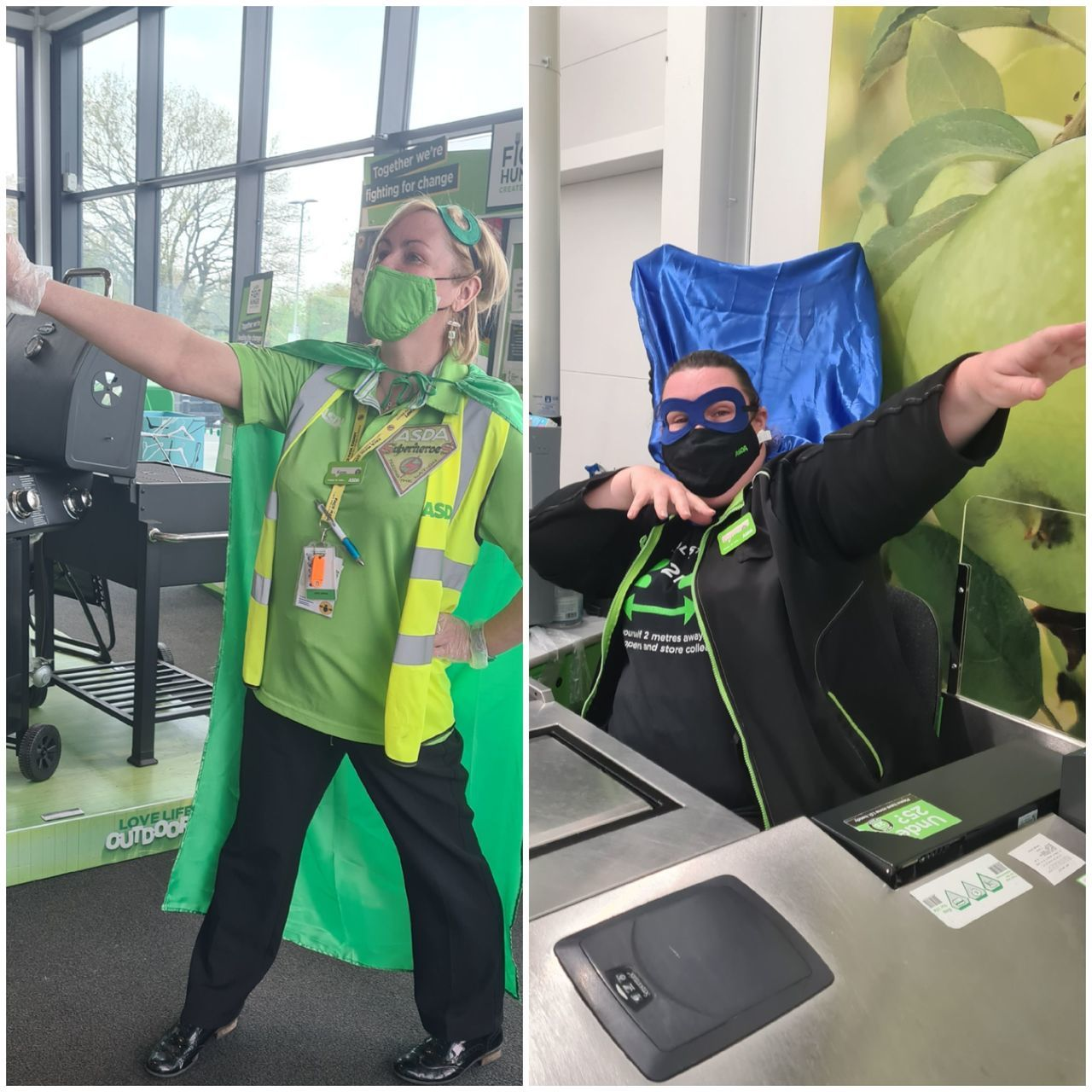 National Super Hero Day  | Asda Newport Isle of Wight