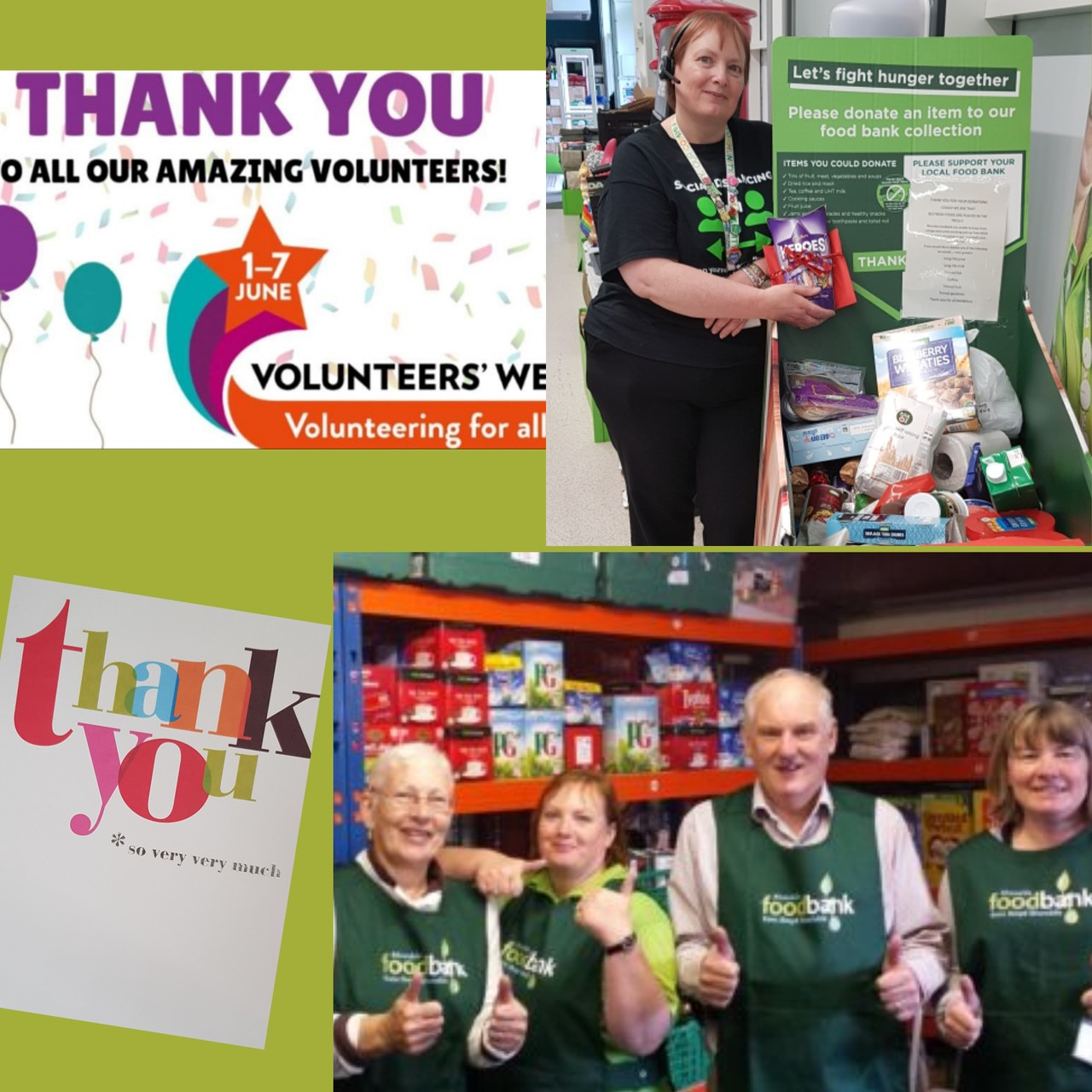 Volunteer thanks | Asda Tonypandy