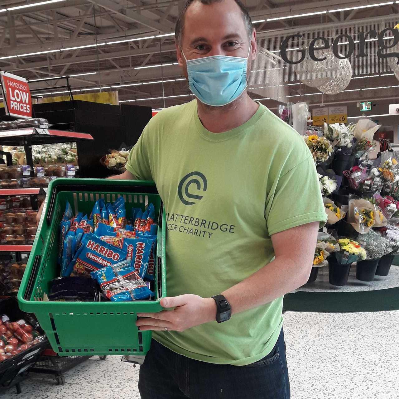 Donation support for Clatterbridge Cancer Charity | Asda Bromborough