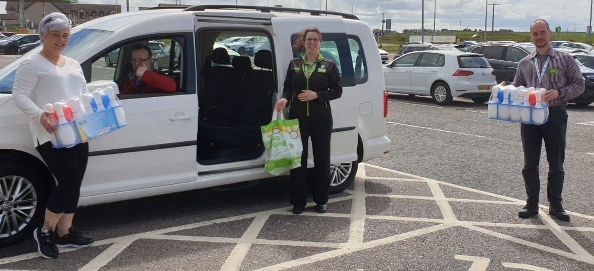 Donation to Care Home | Asda Fraserburgh