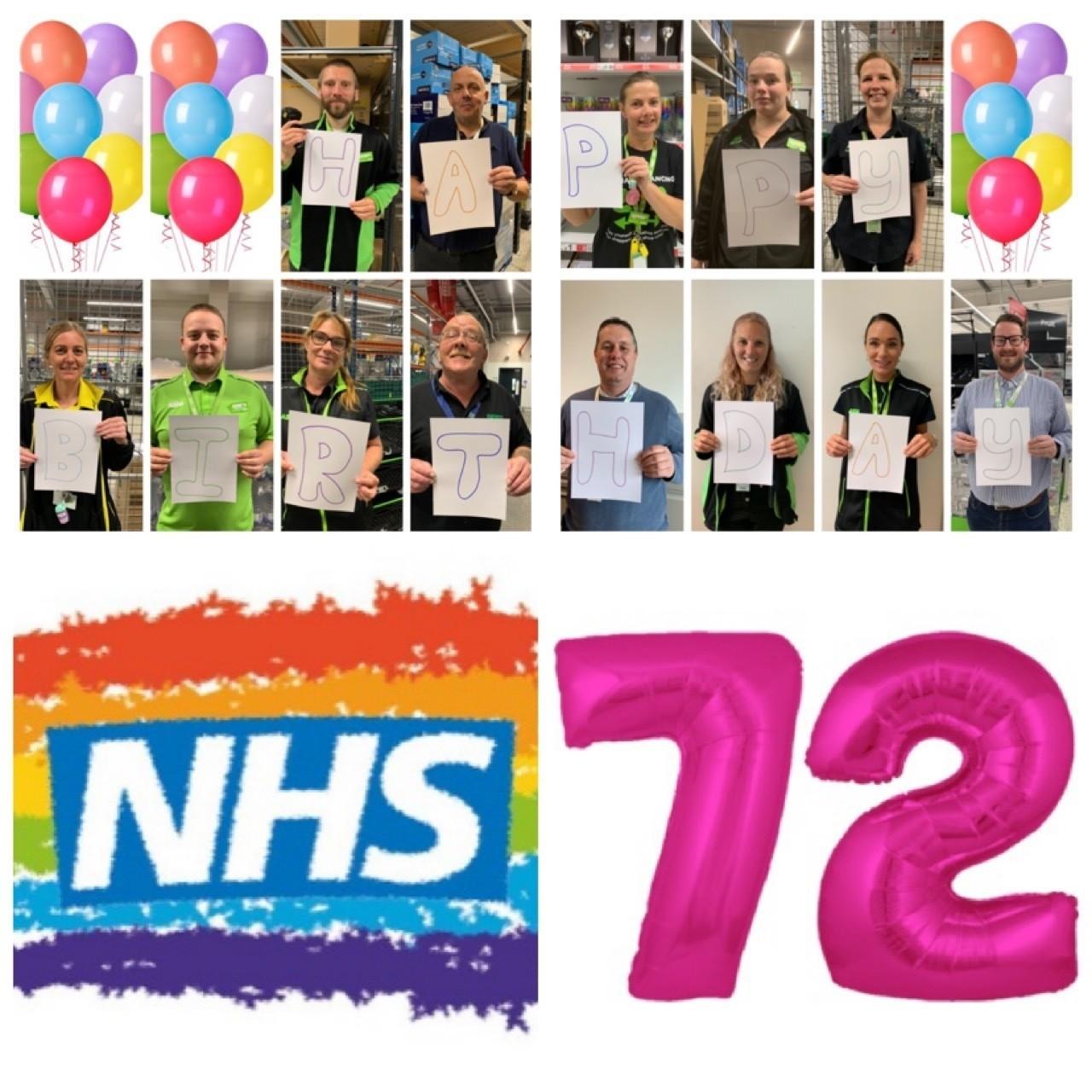 Happy birthday NHS | Asda Clacton-on-Sea