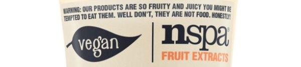 Nspa vegan label