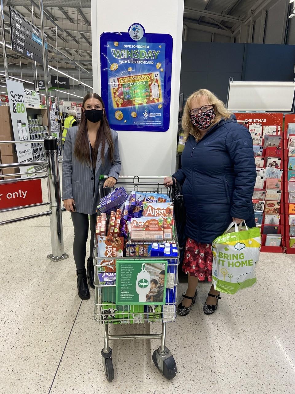 Breakfast club donation | Asda Hessle