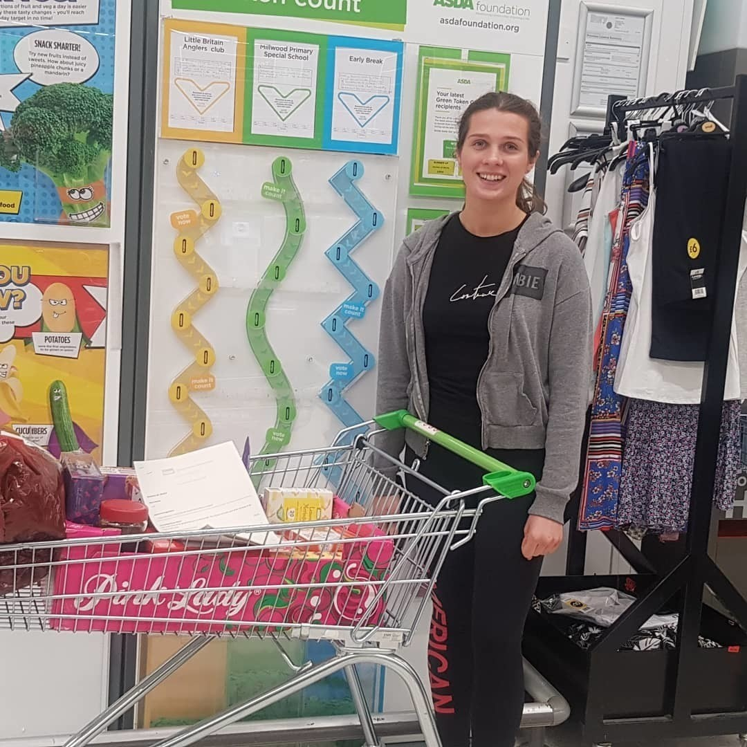 Donation time | Asda Radcliffe