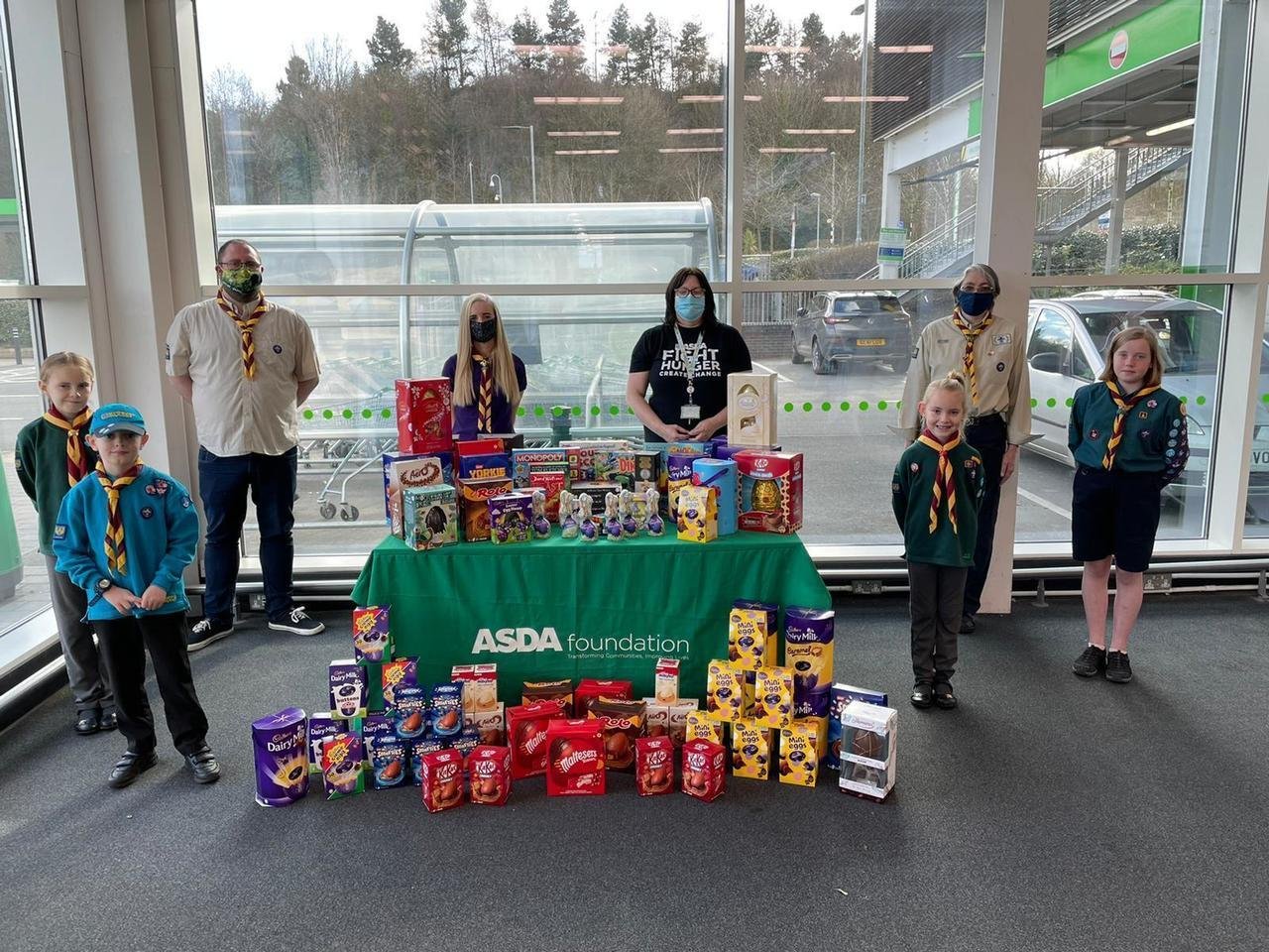 2nd Wombridge Scout Group grant | Asda Telford