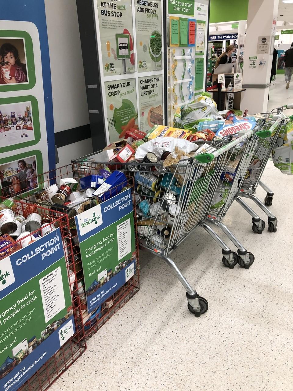 Amazing donations | Asda Nottingham West Bridgford