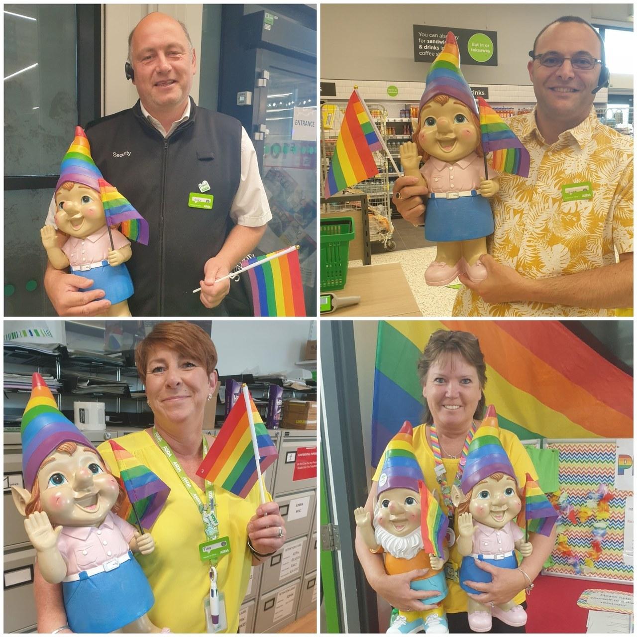 Rainbow week | Asda Newport Isle of Wight