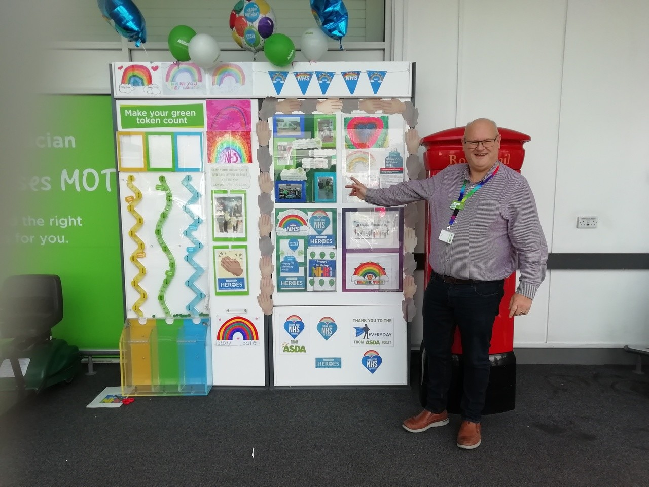 HAPPY 72ND BIRTHDAY TO OUR FANTASTIC NHS | Asda Morley