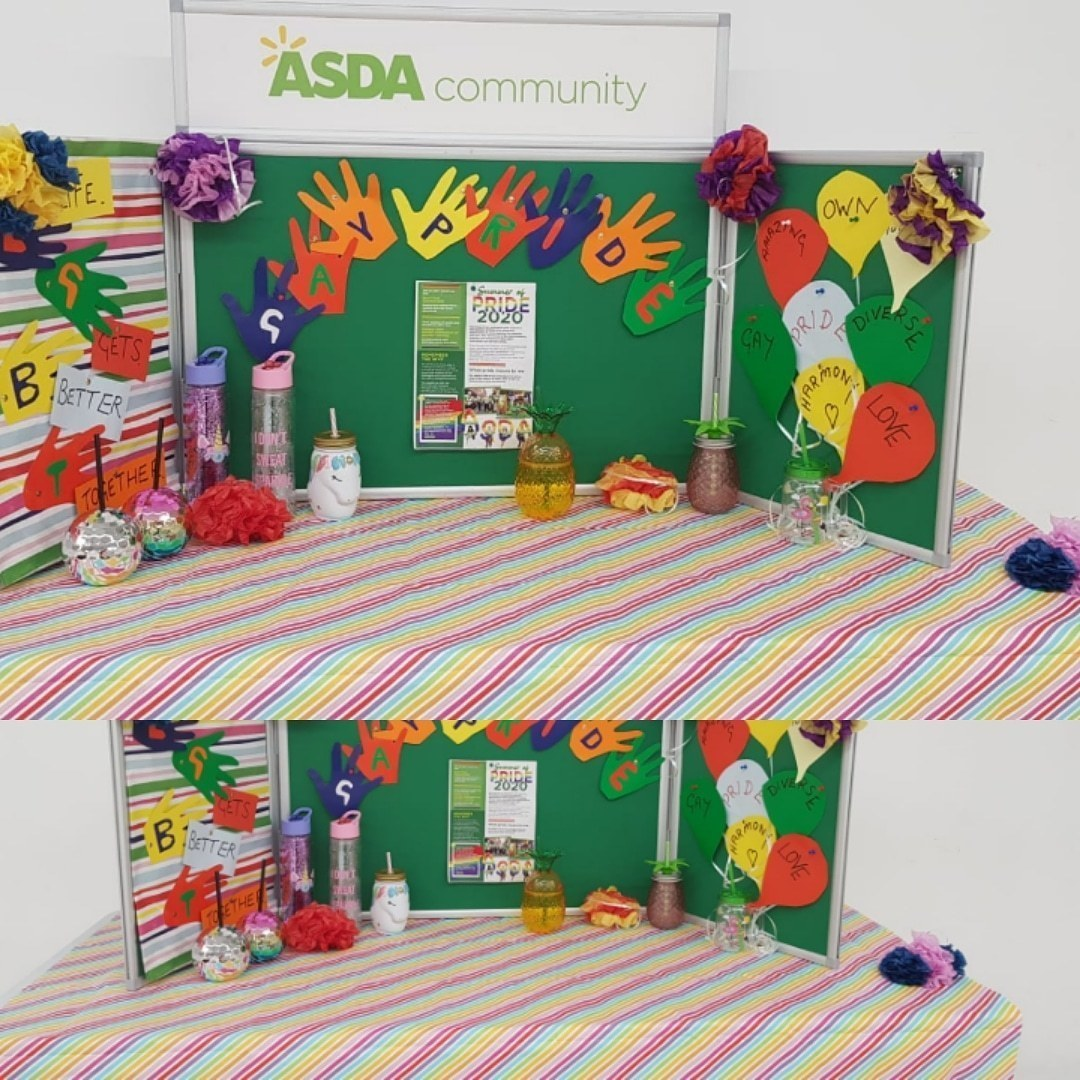 Celebrating Pride  | Asda Barons Quay