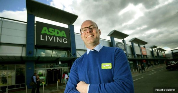 Simon Lea from Asda Living Manchester