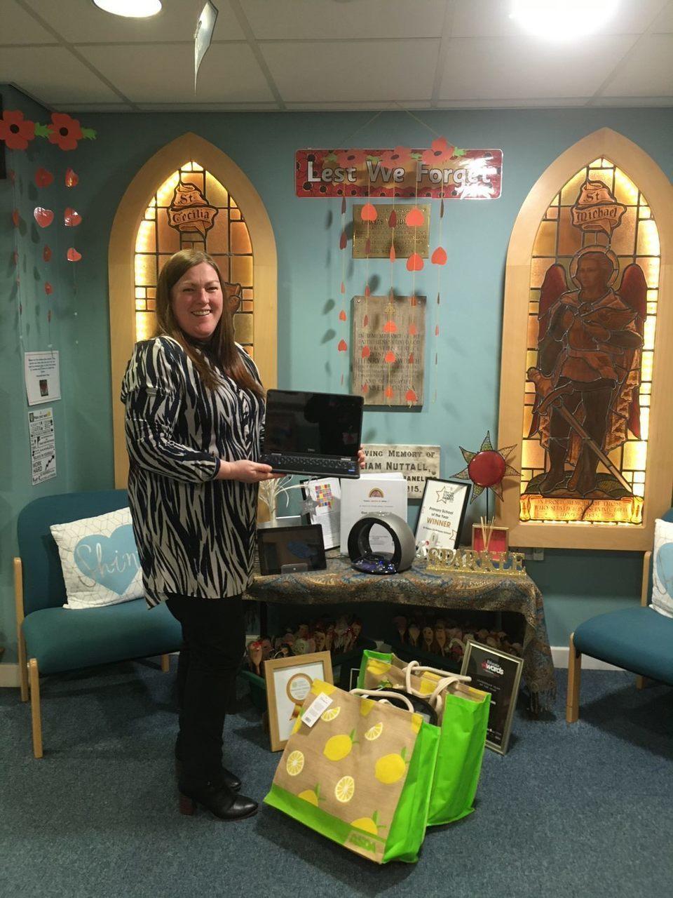 Laptops for St Peter's School Farnworth | Asda Farnworth