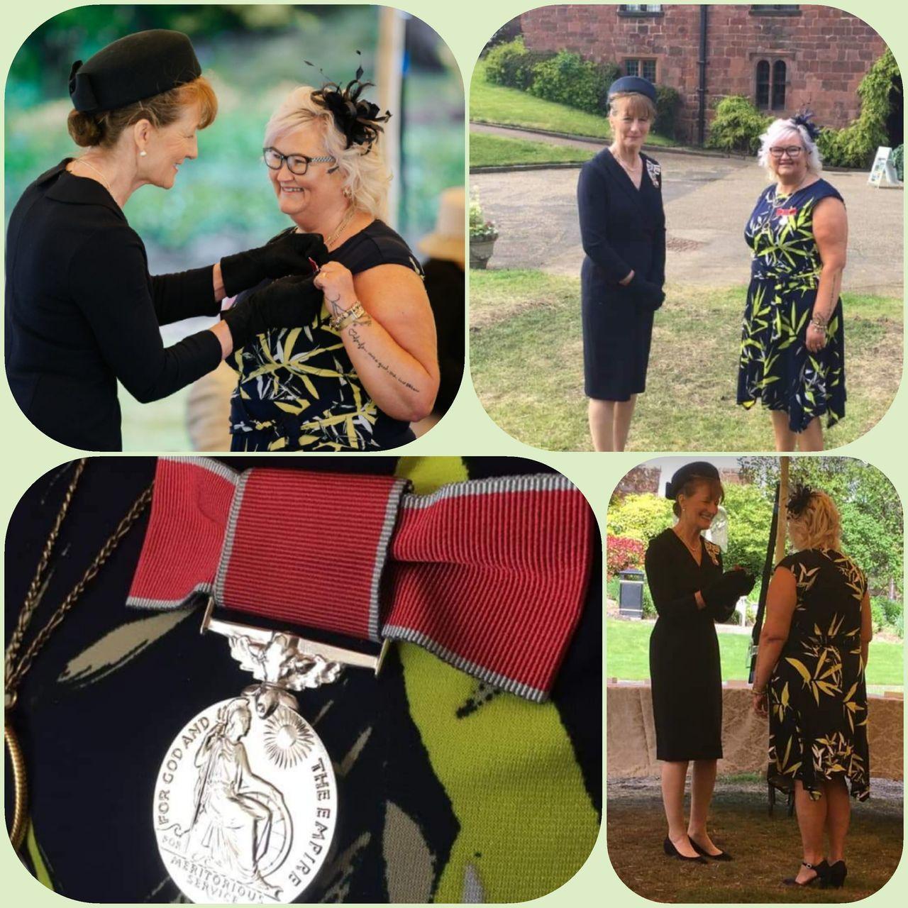 June is speechless after receiving BEM | Asda Donnington Wood