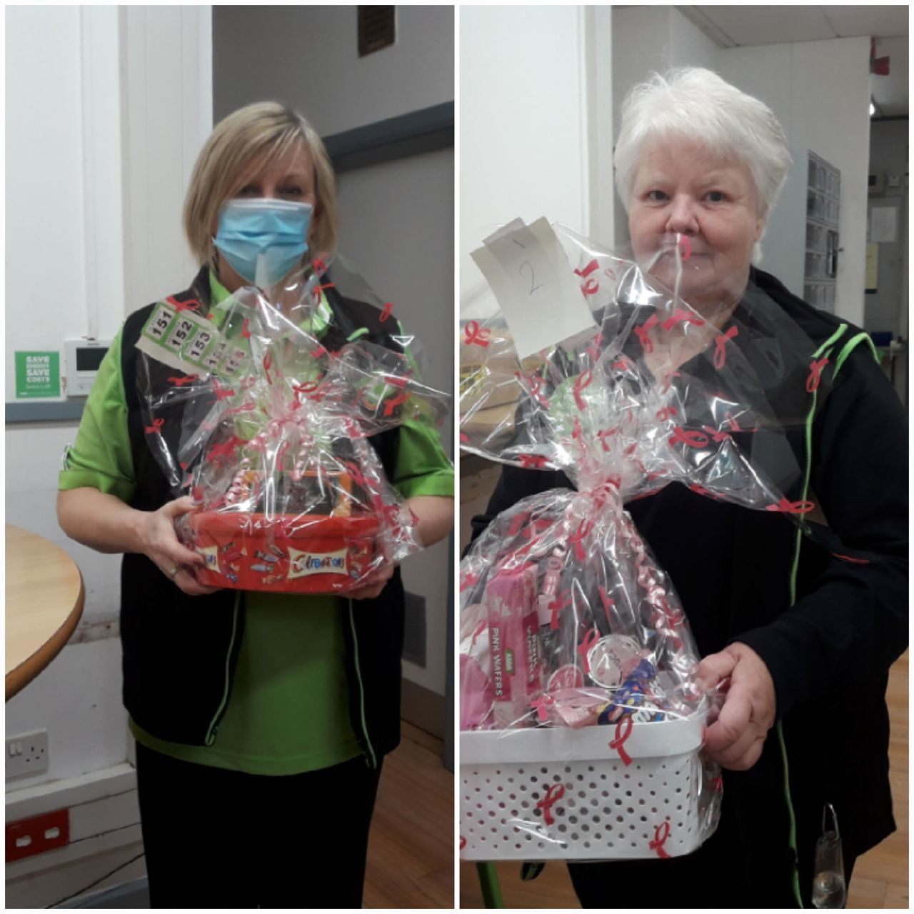 Colleagues Tickled Pink raffle  | Asda Newport