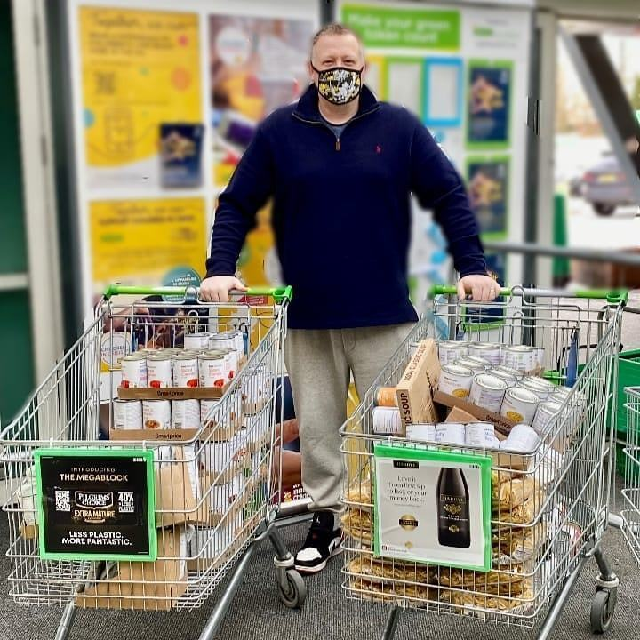 SupportingCornerstone Foodbank | Asda Gosforth