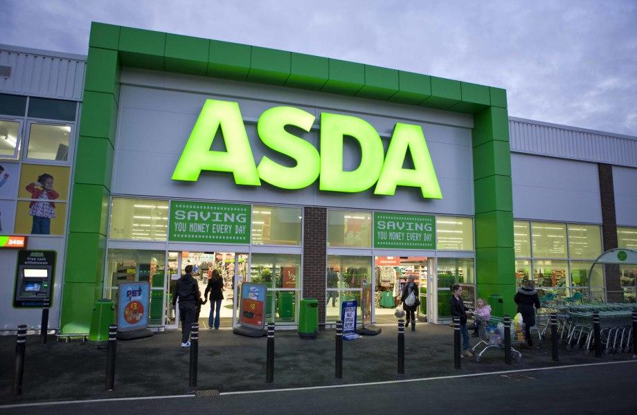 Asda store front, United Kingdom