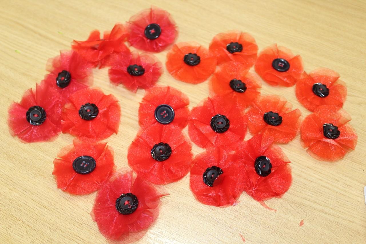 Bolton, Burnden Park and Farnworth stores creating poppy badges | Asda Bolton