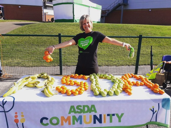 Asda Sutton in Ashfield community champion Hayley Carrington