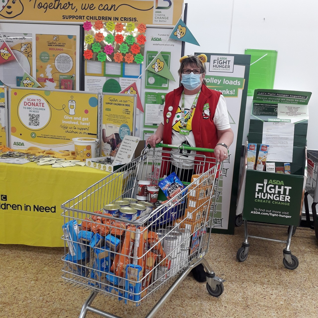 Food bank donation | Asda Crewe
