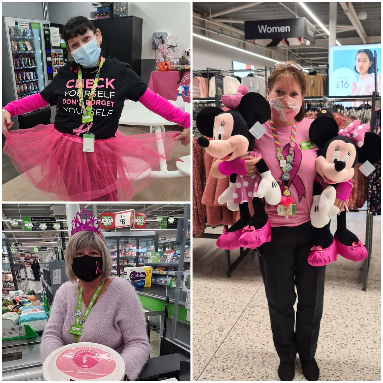 Tickled Pink dress up  | Asda Newport Isle of Wight