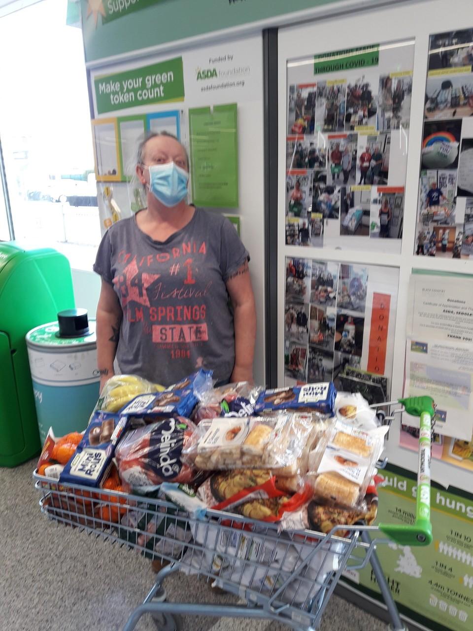 Donation   Asda Sedgley
